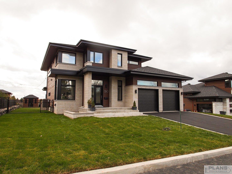 f645d06359e Сучасний котедж в стилі Райта | Plans | Проекты домов